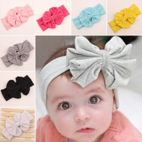 Kids Girls Baby Child Toddler Flower Bow Headband Hair Band Headwear Accessories