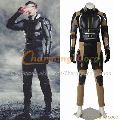 X-Men Apocalypse Cosplay Cyclops Quicksilver Nightcrawler Costume Halloween Men - Nightcrawler Halloween Costume