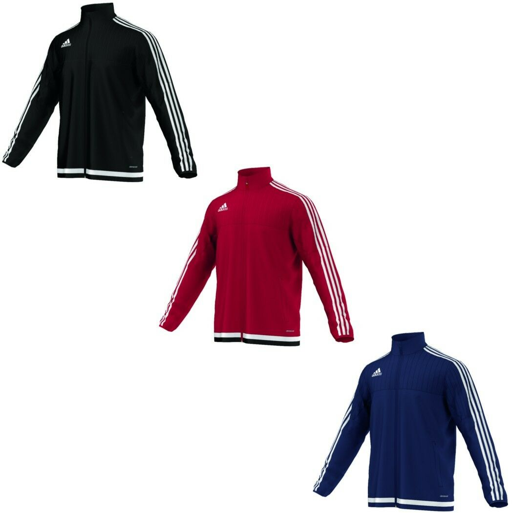 Adidas Herren Tiro 15 Training Trainingsjacke Rot Weiß