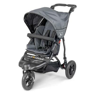 Out n About GT Single Baby Pushchair (Steel Grey) - Suitable From...