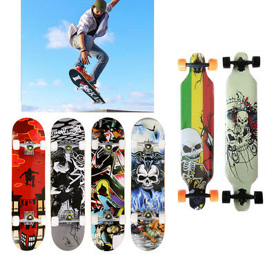 "31""x8""/41""X9.5"" BLANK Drop Down Complete Longboard Professional Speed Skateboard"