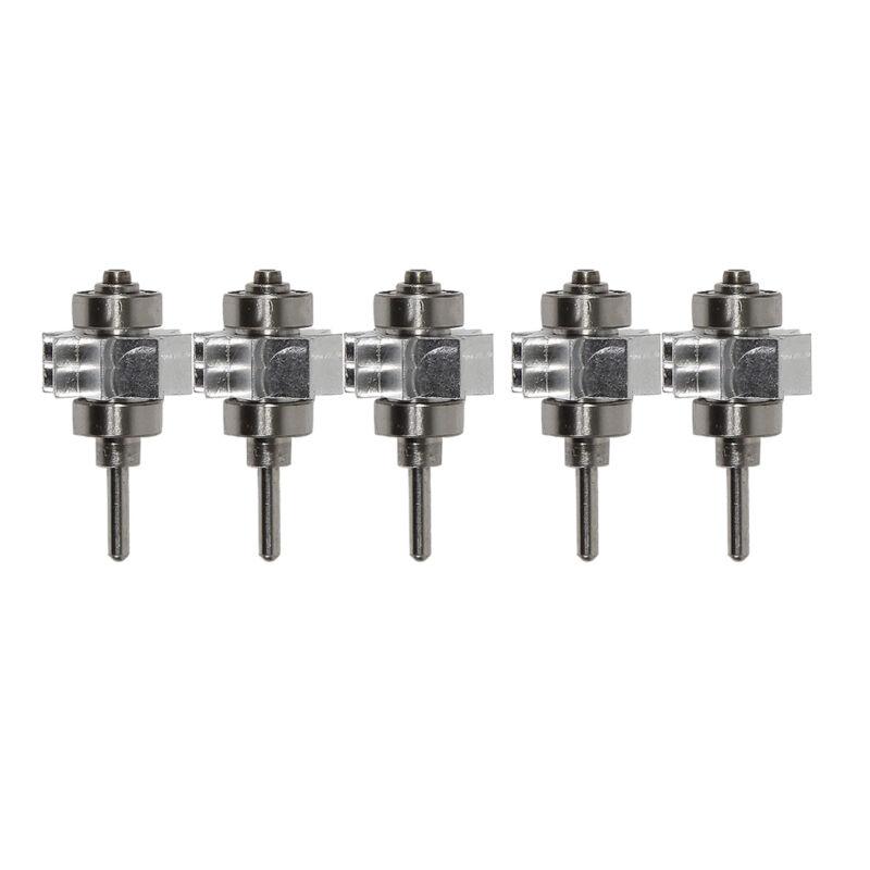 5pcs Dental Turbine Cartridge Rotor fit Yabangbang LED E-generator Handpiece