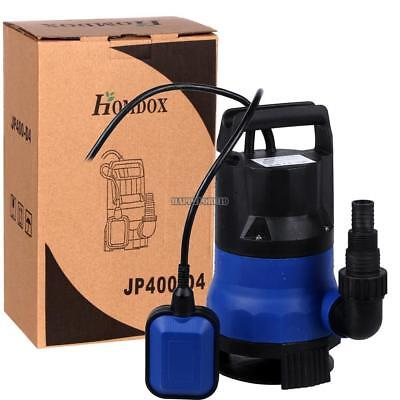 Submersible Water Pump 12 Hp 2000gph Pumps Clean Dirty Pool Pond Flood Drain Us