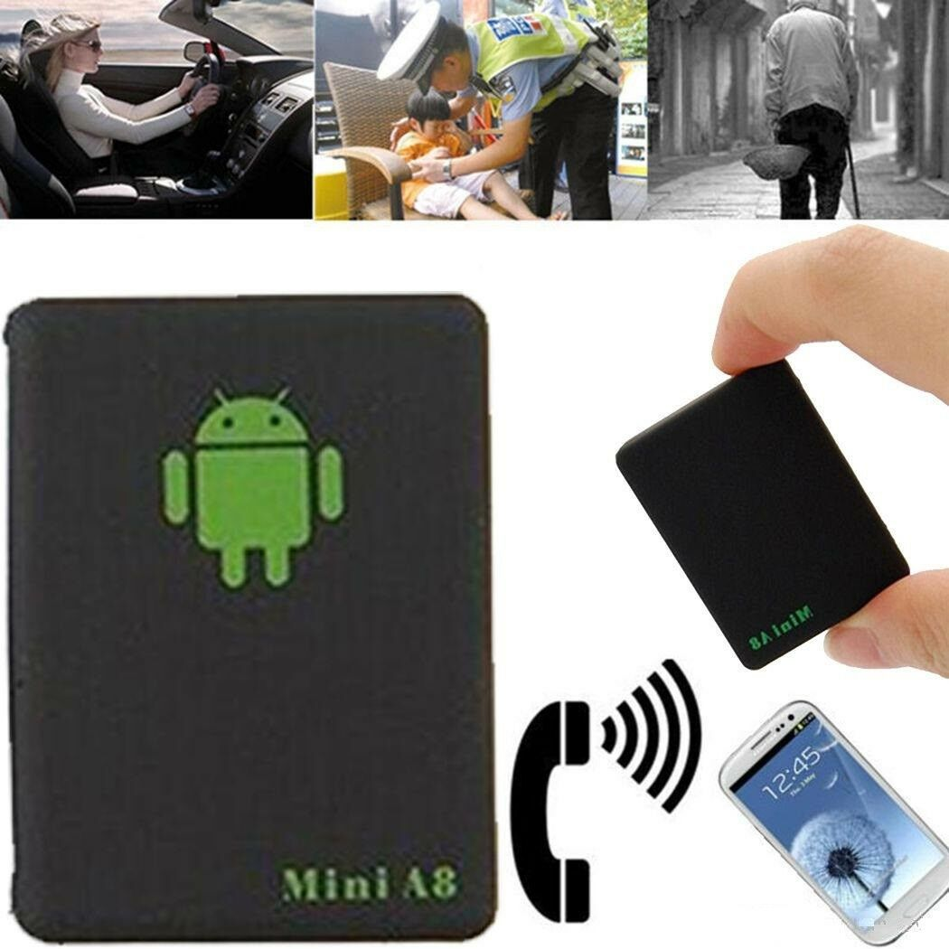 Tracker Voiture GPS Localisateur Mini A8 Position Ecoute Sécurité GSM Tracage