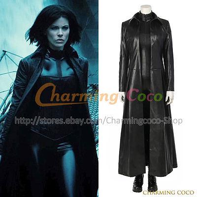 Underworld Blood Wars Selene Cosplay Costume Halloween Fancy Dress Women Uniform