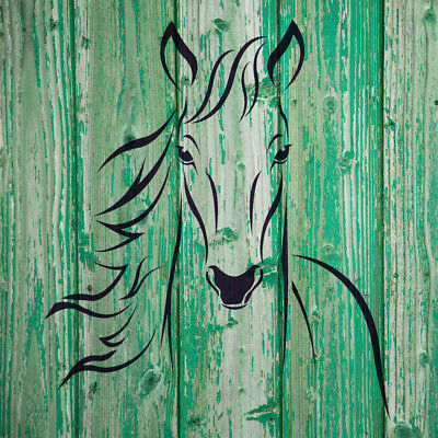 Horse Head Wall stencils for Wall animal art decor Reusable Template