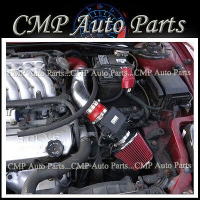 RED 2000-2005 Mitsubishi Eclipse SPYDER/GS/GT/GTS/RS 2.4L 3.0L AIR INTAKE KIT Mitsubishi Eclipse Intakes