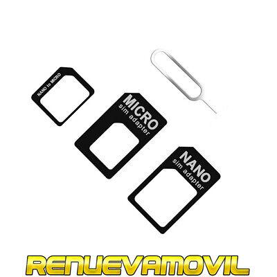 Adaptador tarjeta Nano SIM Card A Micro Para iPhone 4 5 micro...