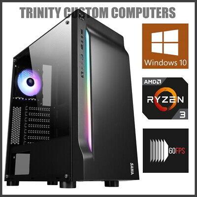 12-Core Quad Core 4GHz Ryzen Gaming PC Computer Desktop 16GB RAM 1TB HD Fortnite