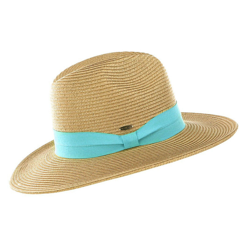 KC Signatures Packable Farrah Classic Panama Hat