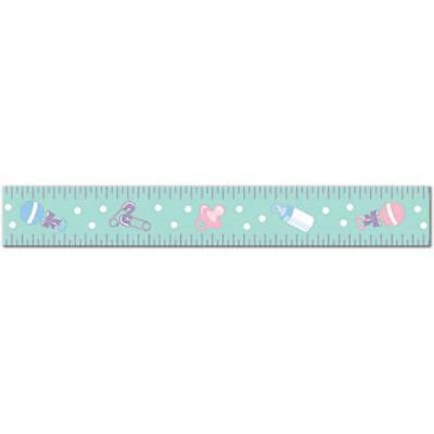Baby Shower Party Activity Cute Belly Bump Measuring Tape Guessing Game (Measure Belly Baby Shower Game)