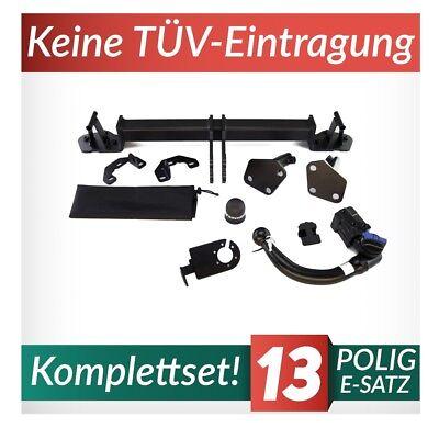 Für BMW 3er E46 Coupe Anhängerkupplung abnehmbar+ES 13p ABE