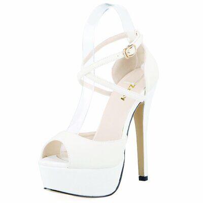 9 Inch High Heels (ZriEy Women Sandals 14CM / 5.5 inches High-Heeled Peep Toe Platform High  US)