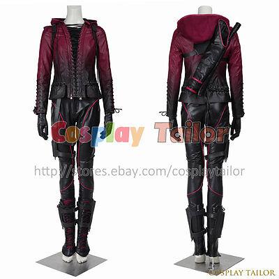 Green Arrow Season 4 Queen Speedy Thea Cosplay Costume Uniform Halloween Female