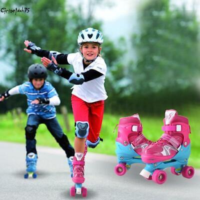 Kinder Rollschuhe Rollerskater Größe verstellbar Inlineskate Schlittschuh aus DE ()