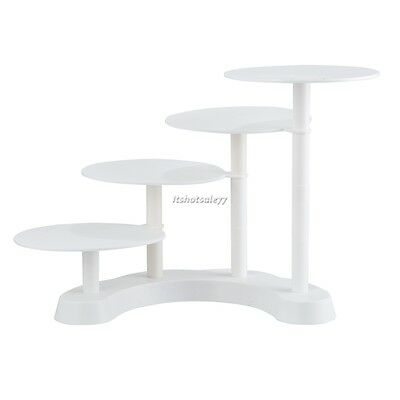 round White Cake Rack Display Cake Stand 4 Tier New Home Party Wedding