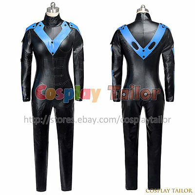 Batman: Arkham City Nightwing Cosplay Costume Halloween Party Uniform For Women