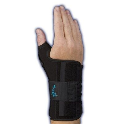 Med Spec Ryno Lacer Wrist and Thumb Support - Short - Black - All Sizes