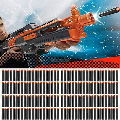 Black 400PCS Refill Bullet Darts for Nerf N-strike Elite Series Blasters Toy Gun