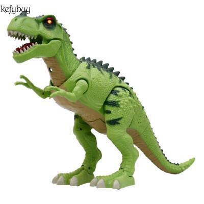 ABS Kinder Walking Dinosaurier Spielzeug Aktion Figuren mit Lichter und Töne Neu