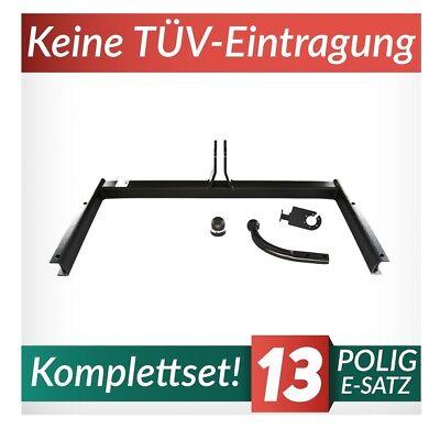 Für Audi A6 C5 4-Tür Stufenheck Quattro Anhängerkupplung starr+ESatz 13pol ABE