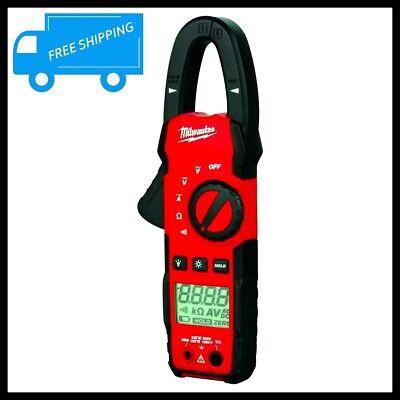 Trms Digital Clamp Meter Ac Dc Multimeter Amp Volt Ohm Current Tester Auto Range