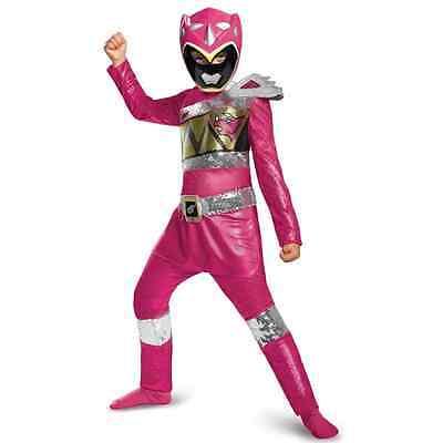 Pink Ranger Power Rangers Dino Charge Fancy Dress - Dino Charge Halloween Kostüm