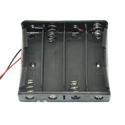 Battery Cells Clip Holder Box Case For 18650 Battery 4slots 1pc
