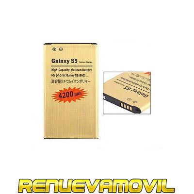 Bateria Para Samsung Galaxy S5 SV i9600 Alta Mas Capacidad 4200Mah de...