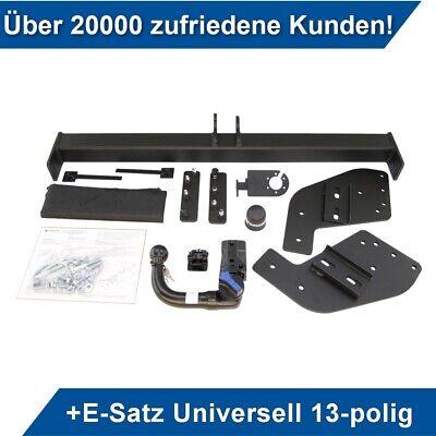 AHK Anhängerkupplung starr+ES 13p uni Für Fiat Fullback Pickup 4WD ab 15 Kpl