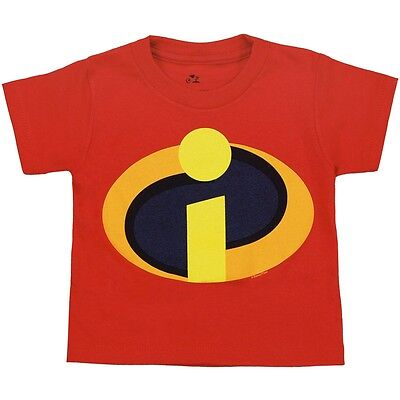 Official Disney The Incredibles Movie Symbol Logo Toddler Juvy T-Shirt - Toddler The Movie