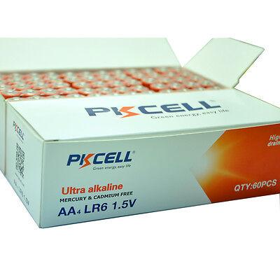 100 x AA Alkaline Batteries 2A 1.5V LR6 AM-3 PC1500 Single use Battery Wholesale