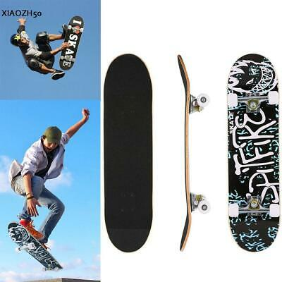 Fashion Pro Cruiser Beginner Longboard Skateboard Complete Deck Wood Board Print