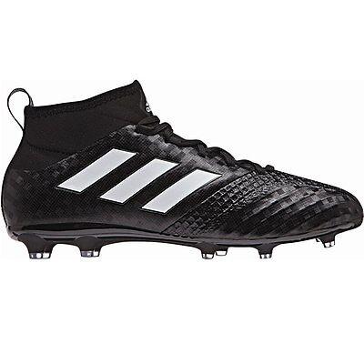 adidas ACE 17.1 FG Junior Socken Fußballschuhe Black Pack schwarz/weiß {BA9216] (Weiße Adidas Fußball Socken)