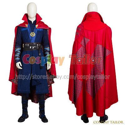 Doctor Strange Stephen Strange Cosplay Costume Halloween Costumes For Adults New (Unusual Halloween Costumes For Adults)