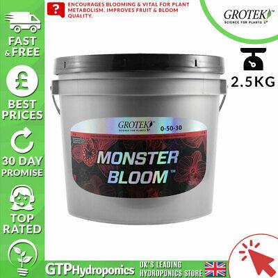 Grotek Monster Bloom 2.5kg - Bloom Booster Nutrient - GTP Hydroponics