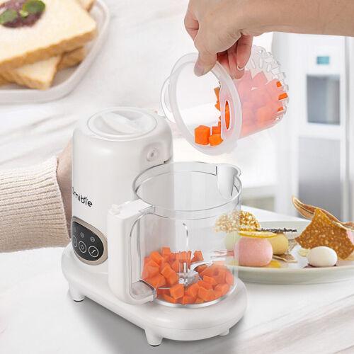 Homdox 5 in1 Baby Food Processor Maker Blender Steam Puree Machine Kit Organic