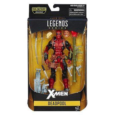 Marvel 6 Inch Legends Series Deadpool Figure With Original Box