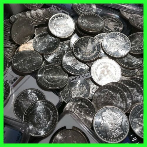 ✯Estate Lot US Morgan Silver Dollars Coins ✯1 BU Mint MS UNC ✯ O, S, P, CC Mint✯