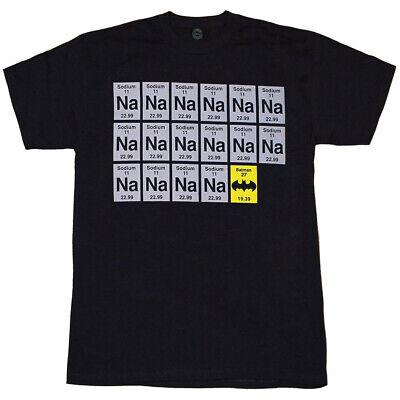 Batman Sodium Chart NA-NA-NA-NA (Na Na Na Na Batman T Shirt)