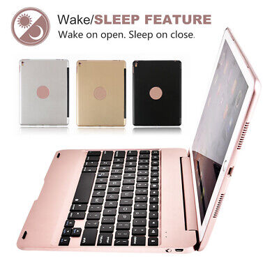 "Stand Portable Keyboard Wireless Bluetooth For iPad 9.7"" 6th Gen 5th Cover case"
