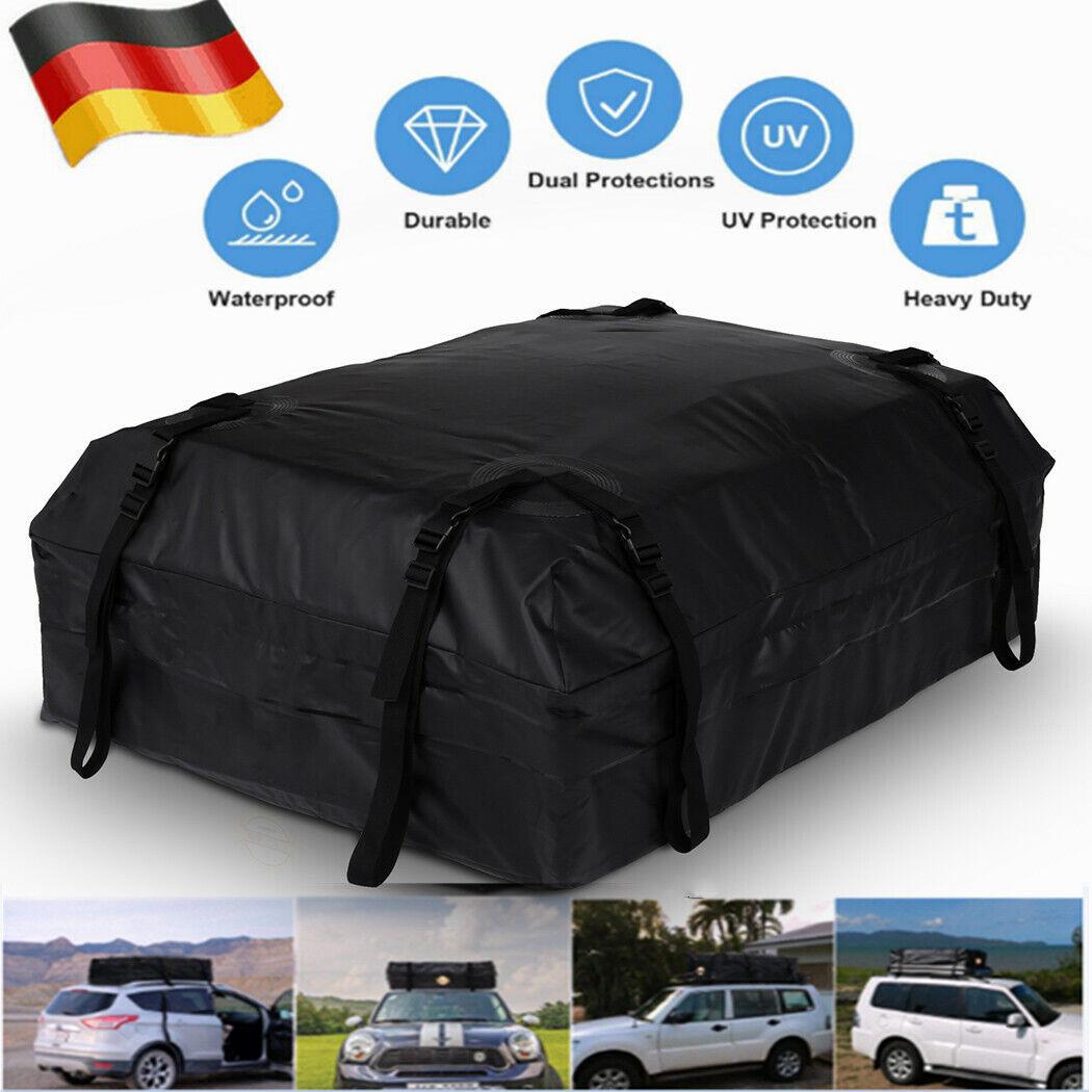 Faltbar Dachkoffer Universal Auto Dachtasche Wasserdicht Dachbox Reisen S TOP A