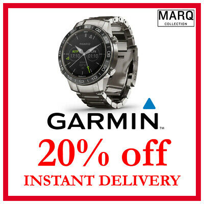 Garmin MARQ Aviator DISCOUNT 20% OFF (NO WATCH, READ DESCRIPTION)