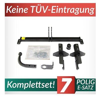 Für Fiat Tipo 356 Stufenheck ab16 Anhängerkupplung abnehmbar vert 13pol E-Satz