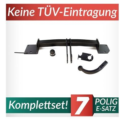E-Satz 7pol Set AHK /& ES neu 3er Touring F31 Anhängerkupplung starr Auto Hak