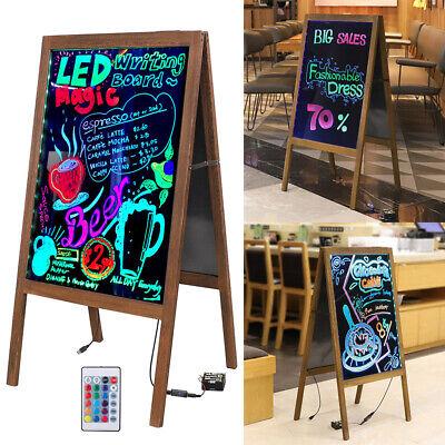 Bar Restaurant Various Flashing Led Writing Message Menu Chalkboard Board Holder