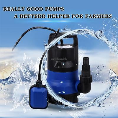 12 Hp Electric Submersible Water Pump Flooding Pool Farm Pond Drain 2000 Gph