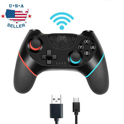 Wireless Pro Controller Gamepad Joypad Joystick Remote Fit For Nintendo Switch