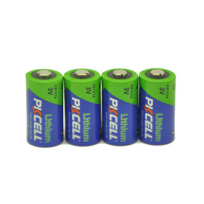 4x PKCELL 2/3A Battery CR123A 123A CR17345(CR17335) 16340 3V Batteries EXP.2029 for sale  Montclair