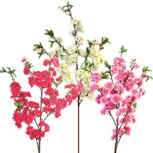 4ft-Artificial-Cherry-Tree-Branch-With-Blossom-Choose-Colour-From-List
